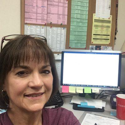 Shakopee Chief Steward Brenda Henning rescheduling meeting remotely.